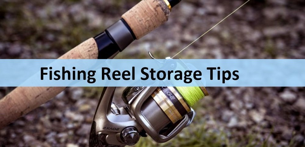 How to store fishing reels