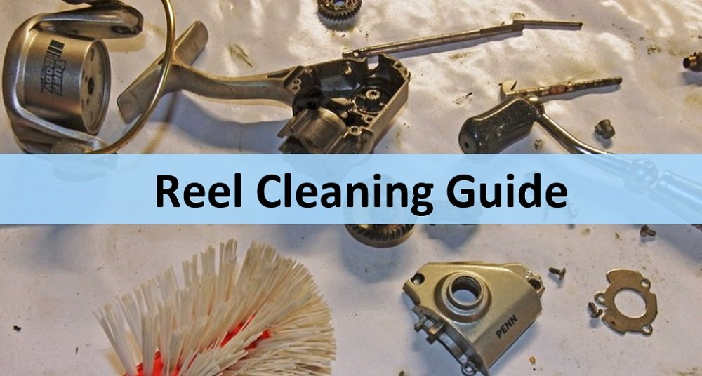 how to clean a fishing reel