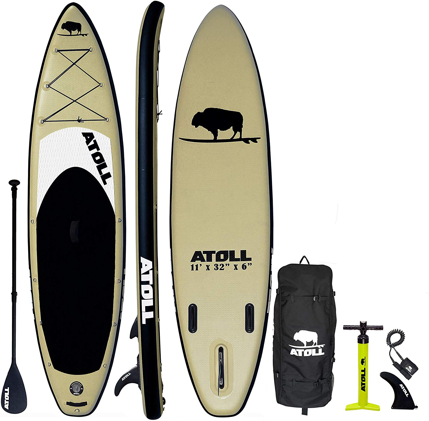 Desert Sand Inflatable Stand Up Paddle Board