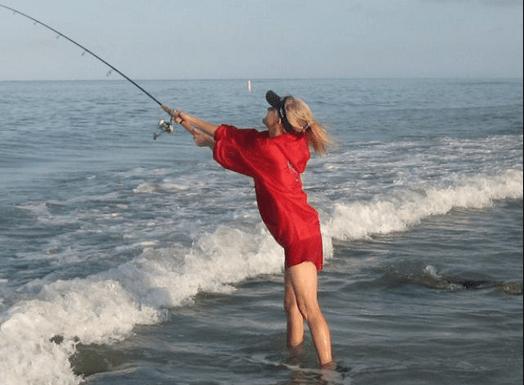 Wade fishing in Florida