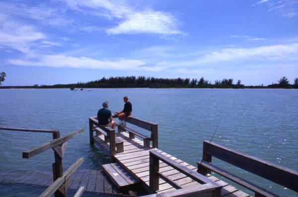 Lovers Key Piers Fishing