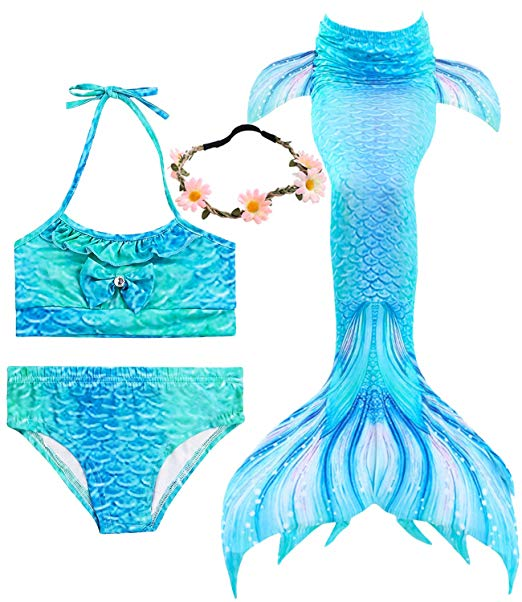 Complete swimsuit for girls
