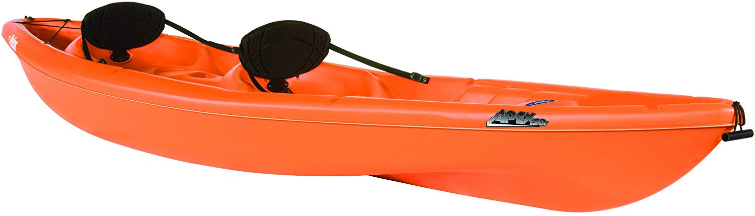 Orange Kayak from Pelican