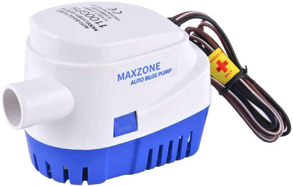 MaxZone Automatic Submersible Bilge Pump