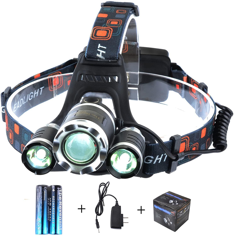 Revenant 5000 Lumens Headlamp for Fishing