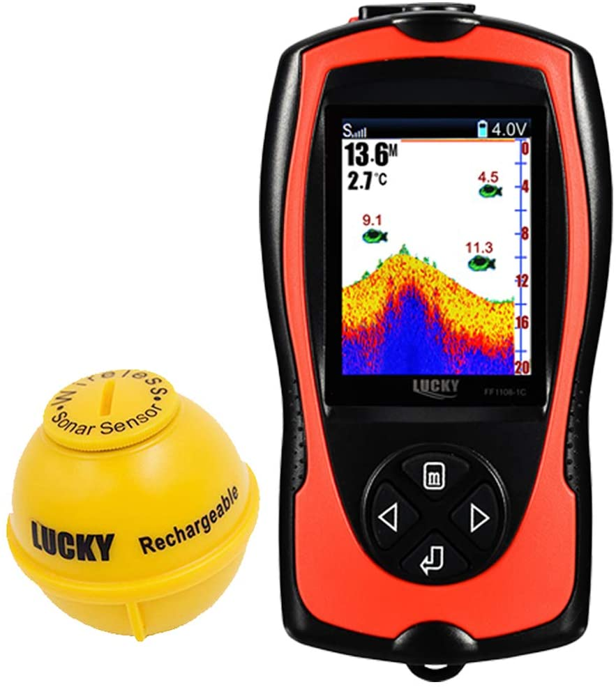 Lucky Portable Fish Finder under 400