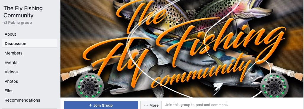 The Fly Fishing Facebook Community