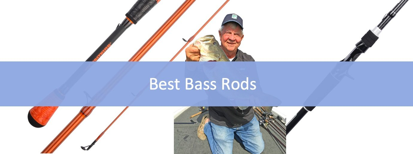 Top 10 Best Bass Fishing Rods + Buyer's Guide
