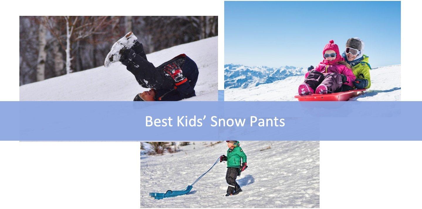 11 Best Kids' Snow Pants Latest Unbiased Analysis
