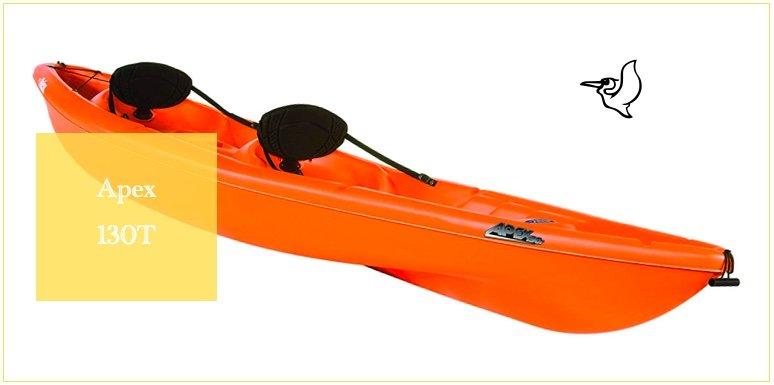 Apex 130T in Pelican Kayak reviews