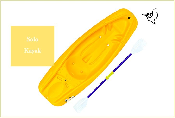 Solo Youth Kayak from Pelican