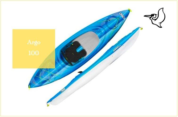 Argo 100 Kayak from Pelican Kayak reviews